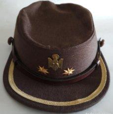 Militaria: GORRA DE TENIENTE CORONEL DE LA POLICIA NACIONAL. Lote 269478163
