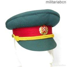 Militaria: REPÚBLICA SOCIALISTA DE CHECOSLOVAQUIA. GORRA DE OFICIAL DEL EJÉRCITO. TALLA 53.. Lote 269832803