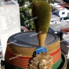 Militaria: CUBRECABEZA SHAKO EJERCITO URUGUAYO SIGLO XIX. Lote 269852463