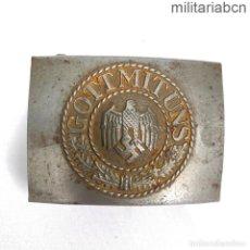 Militaria: ALEMANIA III REICH. HEBILLA DE LA WEHRMACHT EN ACERO. FABRICADA POR ERNST SCHNEIDER ON LÜDENSCHEID. Lote 270553038