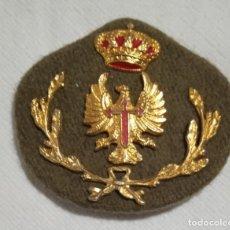 Militaria: EJERCITO DE TIERRA. GALLETA PARA GORRA DE PLATO. COMPLETA.. Lote 271781468