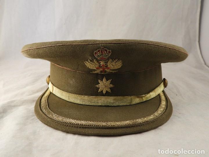 Militaria: GORRA DE PLATO MILITAR DEL EJERCITO DE TIERRA - Foto 2 - 271830968