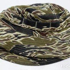"""Militaria: GUERRA DE VIETNAM: BOONIE HAT EN CAMO TIGER STRIPE """"GOLD"""". Lote 267866869"""