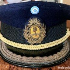 Militaria: ANTIGUA GORRA DE PLATO DEL UNIFORME DE GALA DE INVIERNO DE MAYOR/TTE CORONEL DEL EJÉRCITO ARGENTINO. Lote 274024403