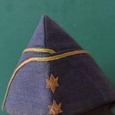 Militaria: GORRO CUARTELERO DE AVIACIÓN. CHAPIRI DE TENIENTE. C7. Lote 275727083
