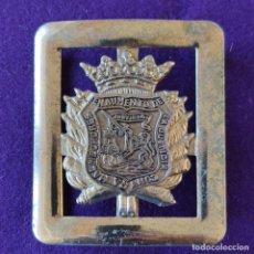 Militaria: ANTIGUA HEBILLA METALICA MIÑONES DE ALAVA. POLICIA FORAL VASCA. MIÑON. RARA. ORIGINAL.. Lote 275736063