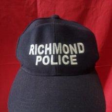 Militaria: GORRA POLICIA DE RICHMOND. Lote 275850743