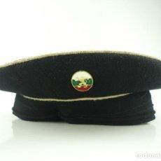 Militaria: ANTIGUO GORRO DE MARINA FUERZAS MARINA AUTENTICO DE LA ERA COMUNISTA. Lote 275881673