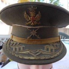 Militaria: GORRA DE PLATO DE GENERAL DE BRIGADA, EPOCA TRANSICION. Lote 275885533