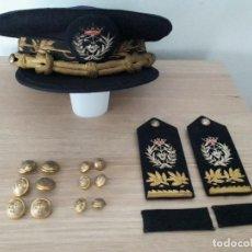 Militaria: GORRA, PALAS Y BOTONES UNIFORME INGENIEROS INDUSTRIALES. Lote 276942248