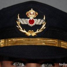 Militaria: GORRA DE PLATO PARA OFICIAL DEL AJERCITO DEL AIRE (AVIACION) AÑOS 80. Lote 277723818