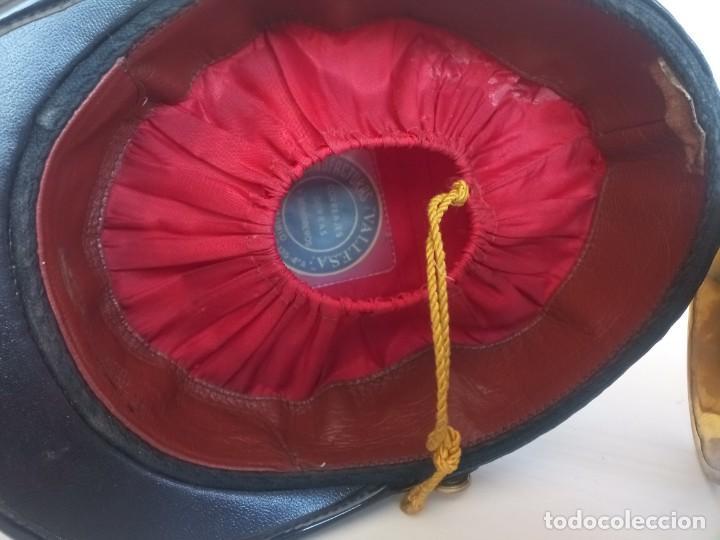 Militaria: Lote militar guardia real ros sombrero y corneta trompeta - Foto 6 - 278184568