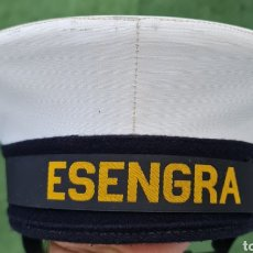 Militaria: LEPANTO O GORRO MARINERO DE LA ESCUELA ESENGRA. ARMADA ESPAÑOLA.TALLA 58. Lote 278630213