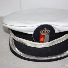 Militaria: ANTIGUA GORRA VERANO DE MANDO DE POLICÍA MUNICIPAL.. Lote 282498128