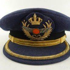 Militaria: GORRA DE PLATO OFICIAL EJÉRCITO AIRE ESPAÑA. Lote 285221133