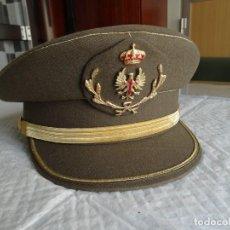 Militaria: GORRA DE PLATO DEL ET ESPAÑOL. Lote 286008743