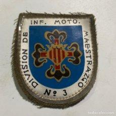 Militaria: PARCHE DE LA DIVISIÓN DE INF. MOTO. MAESTRAZGO Nº 3. Lote 286344008