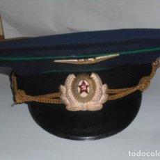 Militaria: GORRA PLATO DE AVIACION -RUSIA-. Lote 287362308