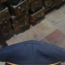 Militaria: GORRA DE PLATO NUEVA A ESTRENAR, POSIBLEMENTE DE SEGURIDAD O POLICÍA MUNICIPAL. Lote 288142988