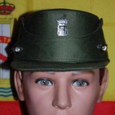 Militaria: GORRA MONTAÑERA GUARDA DE PARQUES Y JARDINES DEL AYUNTAMIENTO DE MADRID AÑOS 70. Lote 289494548