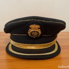 Militaria: GORRA DE PLATO ESCALA EJECUTIVA POLICÍA NACIONAL, OBSOLETA. USO EXCLUSIVO PARA COLECCIONISMO. Lote 289872278