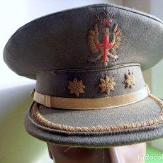 Militaria: GORRA DE PLATO DE CORONEL DEL EJERCITO ESPAÑOL ,REGIMEN ANTERIOR ,. Lote 294128213