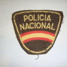 Militaria: PARCHE ANTIGUO DE POLICÍA NACIONAL.. Lote 295340163