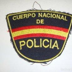 Militaria: PARCHE DEL CUERPO NACIONAL DE POLICÍA.. Lote 295343373