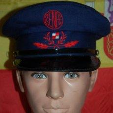 Militaria: RENFE GORRA DE GUARDA AGUJAS/FERROVIARIO/RENFE. Lote 295538558
