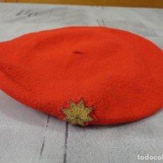 Militaria: BOINA O GORRA DE COMANDANTE REQUETE GUERRA CIVIL. Lote 295769953