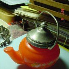 Miniaturas de perfumes antiguos: 2857 AVON FRASCO DE COLONIA CON FORMA DE TETERA - MAS EN COSAS&CURIOSAS. Lote 9075612