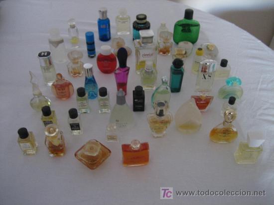 MAGNIFICA COLECCION DE 45 MINIATURAS DE PERFUMES DE MARCAS - EN SU MAYORIA PERFUMES FRANCESES - 8 (Coleccionismo - Miniaturas de Perfumes)