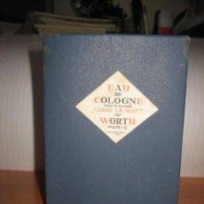 Miniaturas de perfumes antiguos: EAU DE COLOGNE DANS LA NUIT WORTH . Lote 26576156