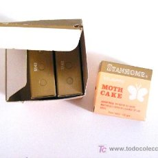 Miniaturas de perfumes antiguos: MOTH CAKE, PASTILLAS, STANHOME. Lote 21169424