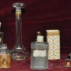 Miniaturas de perfumes antiguos: LOTE DE PERFUMES Y COLONIAS. AÑOS 50 - 60. MUCHAS FRANCESAS.. Lote 24933501