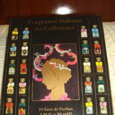 Miniaturas de perfumes antiguos: MINIATURAS DE PERFUMES ITALIANAS.. Lote 27290802