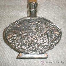 Miniaturas de perfumes antiguos: PERFUMERO DE ESTANO. Lote 27399856