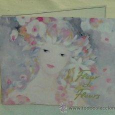 Miniaturas de perfumes antiguos: MUESTRA COMERCIAL COLONIA FLEUR DE FLEURS NINA RICCI-SEMILLENA. Lote 26090546