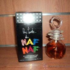 Miniaturas de perfumes antiguos: EAU TOILETTE NAF NAF 100 ML. SPRAY DESCATALOGADA. Lote 26524234