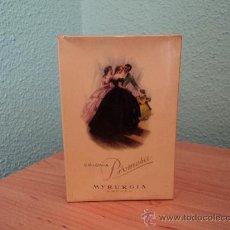 Miniaturas de perfumes antiguos: COLONIA PROMESA DE MYRURGIA 1/4 L. PRECINTADA DESCATALOGADA. Lote 121611327