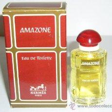 Miniaturas de perfumes antiguos: MINIATURA DE PERFUME VINTAGE AMAZONE DE HERMES. Lote 30504065
