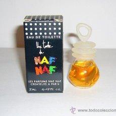 Miniaturas de perfumes antiguos: MINIATURA DE PERFUME UNE TOUCHE DE NAF NAF. Lote 47580503