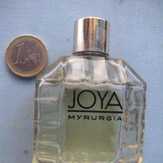 Miniaturas de perfumes antiguos: BOTELLA DE COLONIA JOYA DE MYRURGIA. Lote 30706792