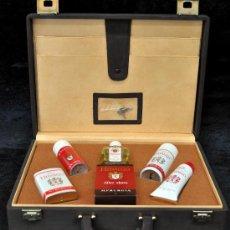Miniaturas de perfumes antiguos: PRECIOSO MALETÍN DE LA CASA MYRURGIA PROCEDENTE DE UN ANTIGUO COMERCIAL. HIDALGO. Lote 30693044