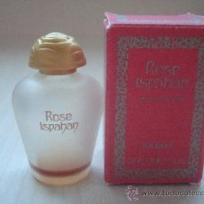 Miniaturas de perfumes antiguos: MINIATURA PERFUME ROSE ISPAHAN,YVES ROCHER. Lote 31733508