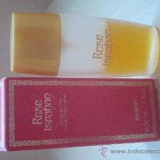 Miniaturas de perfumes antiguos: MINIATURA PERFUME ROSE ISPAHAN,YVES ROCHER. Lote 55293084