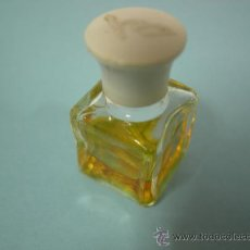 Miniaturas de perfumes antiguos: MINIATURA DE PERFUME - COLONIA BACH CON PERFUME. Lote 31768454
