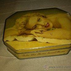 Miniaturas de perfumes antiguos: LATA ANTIGUA COFFES. Lote 32202351