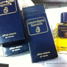 Miniaturas de perfumes antiguos: COURREGES HOMME FRASCO AFTER SHAVE MASAJE AFEITAR 100ML DESCATALOGADA. Lote 295459813
