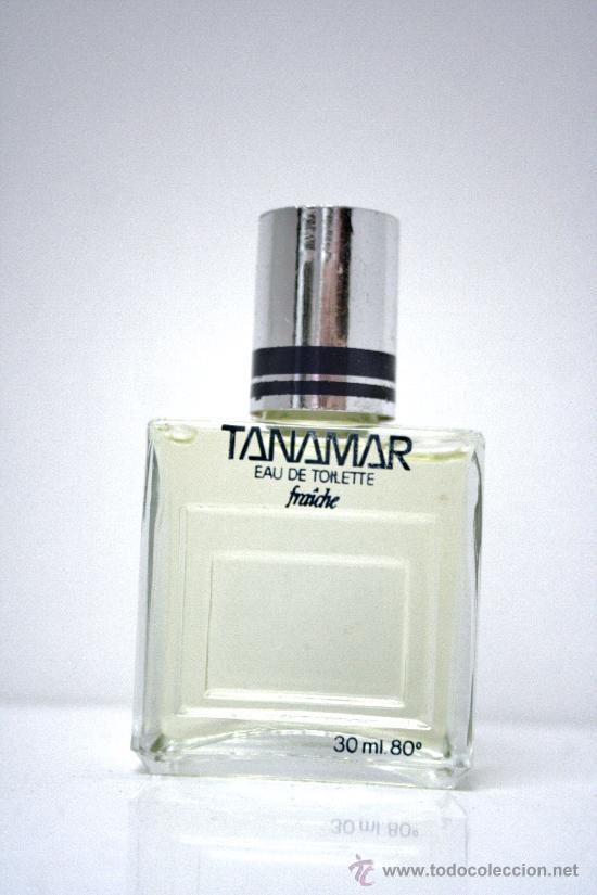 Miniaturas de perfumes antiguos: TANAMAR DE PARERA COLONIA 30ML DESAPAREC - Foto 2 - 46104901